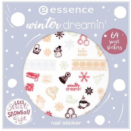 essence TE winter dreamin' naljepnice za nokte 01 slika 1