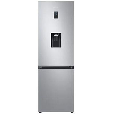SAMSUNG hladnjak sa zamrzivačem dolje, SpaceMax™, A++, Kapacitet 331l, All around Cooling tehnologija, Digital Inverter tehnologija,- ušteda do 50% energije, razina buke 35 dBA te 10g garancije, No Frost tehnologija, Dispenzer za vodu - pojednostavljeni spremnik za vodu za još više prostora, Polica za vino/boce, LED osvjetljenje, Snaga Cool / Power Freeze, Titan srebrna boja, Clean Back poklopac, Veliki spremnik u vratima, Vrata s promjenjivim smjerom otvaranja i udubljenim ručkama, Alarm za vrata, Visina 183cm, Potrošnja 256 kWh/godišnje