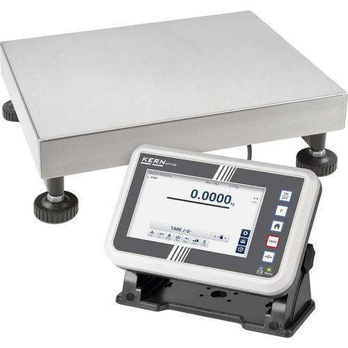 Vaga sa platformom Kern IFT Opseg mjerenja (kg) 60 kg Mogućnost očitanja 2 g putem utičnog punjača Višebojna slika 1