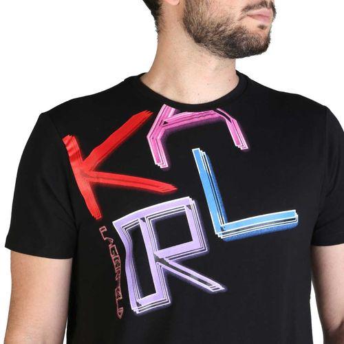 Karl Lagerfeld muška majica KL21MTS02 Black slika 3