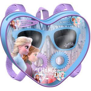 Disney Frozen 2 dječje sunčane naočale i dodaci za kosu Set sadrži: sunčane naočale, 2x ukosnice, 2x gumice za kosu