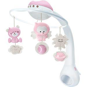 Zvjezdani projektor osvjetljava sobu vašeg djeteta dok projektor pušta umirujuće melodije.  Dob: 0+