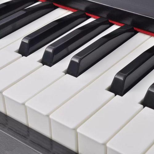 Digitalni klavir s pedalama crnom melaminskom pločom i 88 tipki slika 10