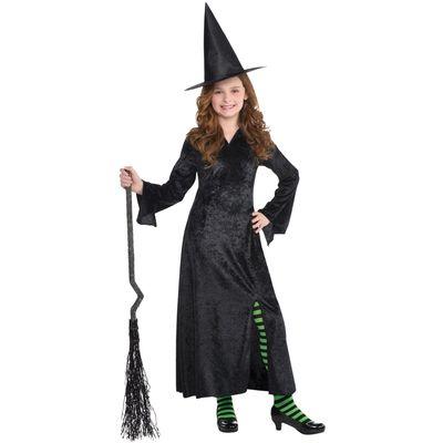 Kostim za djevojčice  Crna Vještica  Jedna veličina