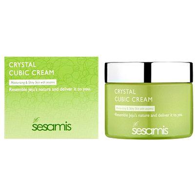 Kristalna krema za lice Revitalizira i hidratizira Pogodno za sve tipove kože Nije komedogeno