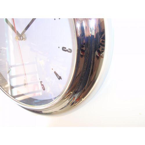 Zidni quartz sat AN0240 - metal slika 2