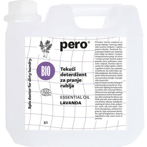 pero® Tekući koncentrirani deterdžent za njegu rublja 3l lavanda slika 1