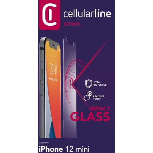 Cellularline zaštitno staklo za iPhone 12 Mini slika 2