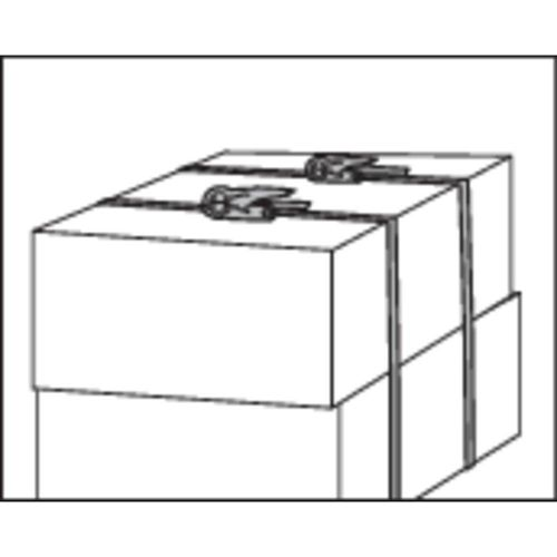 Jednodijelna zatezna traka LC vučno vezivanje (pojedinačno/izravno)=350 daN (D x Š) 6 m x 25 mm TOOLCRAFT 1493502 slika 5