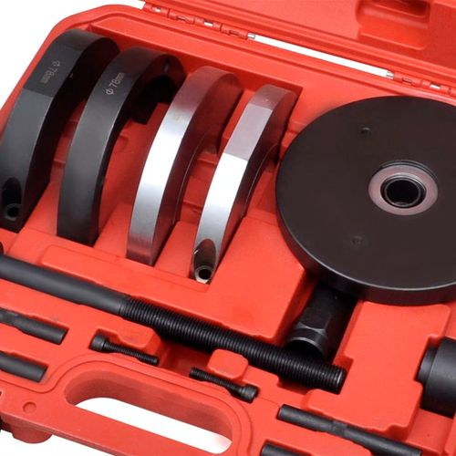 14-Dijelni Set Alata za Izmjenu Kugličnih Ležajeva prednjih kotača 78 mm Ford, Mazda, Volvo slika 7