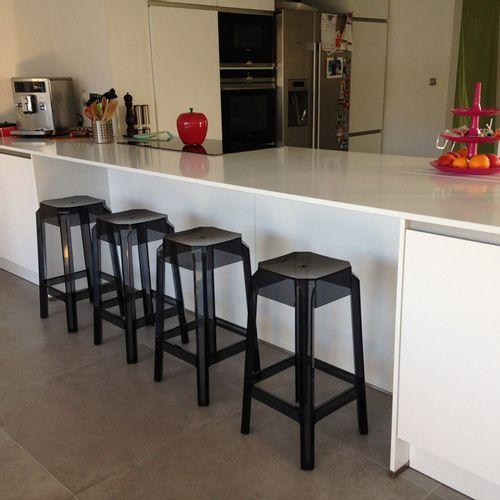 Dizajnerska barska stolica — POLY slika 7