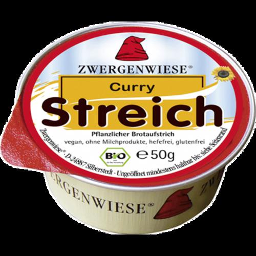 ZWERGENWEISE Pašteta biljna curry BIO 50g slika 1