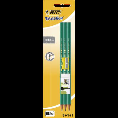Bic evolution original HB grafitna olovka s ultra-otpornim grafitom koji se neće slomiti prilikom izoštravanja i otporna je na udarce.