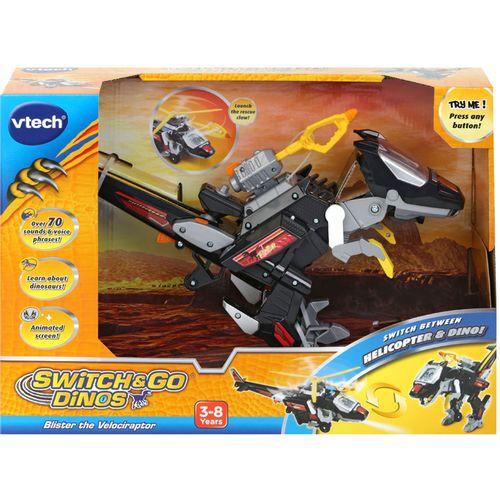 Vtech Switch & Go Dinos® Commander Blister the Velociraptor slika 6