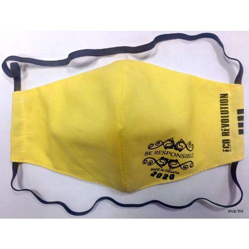 Periva maska za lice 25 - yellow BR 2020 slika 3