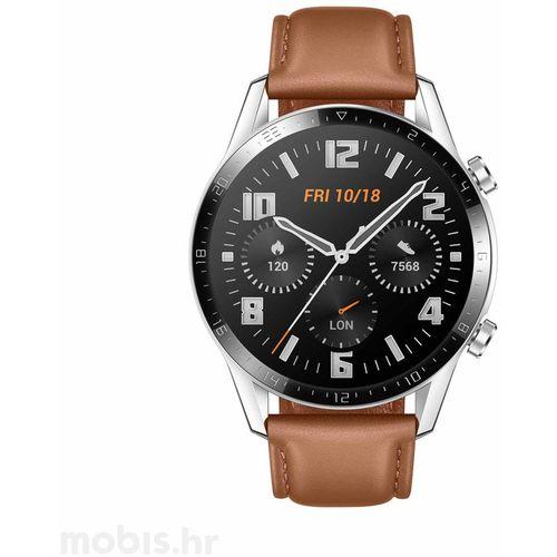 Huawei Watch GT 2, 46 MM  Smeđi slika 1