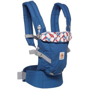 - Ergobaby Adapt  - koristi se od rođenja bez umetka – prilagodljiva veličini djeteta;  - za djecu od 3,2 kg do 20 kg;  - nosiljka za 3 položaja: na trbuhu prema natrag, na boku i na leđima;  - maksimalna udobnost za roditelja;  - udoban i ergonosmki položaj za dijete u svim položajima nošenja.