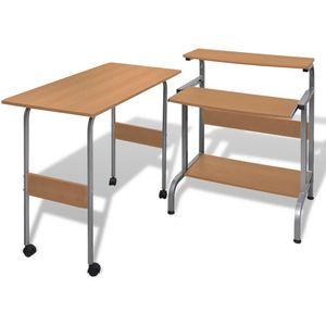 Ovaj kompaktni stol za računalo dolazi u kompletu sa pisaćim stolom, a pruži Vam dovoljno prostora. Idealan za korišćenje kao radna stanica, to će sigurno povećati učinkovitost rada. Uredski stol ima 3 police, gdje možete staviti LCD monitor,...