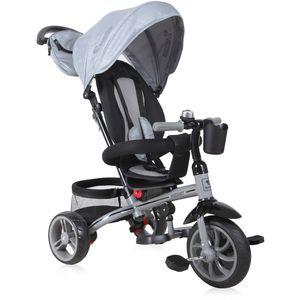 Vaše će dijete uživati u svim pogodnostima koje će mu pružiti ovaj tricikl! A i Vi ćete primijetiti da su šetnje u isto vrijeme i ugodne i aktivne.
