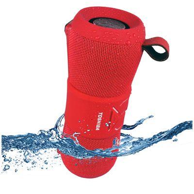 Sada možete uživati u omiljenoj glazbi i u blizini vode bez bojazni da ćete smočiti zvučnik! Toshiba TY-WSP200R Sonic Blast 3' vodootporni zvučnik je otporan na vodu, prljavštinu, prašinu i udarce, a za potpuno sigurnost ovaj vrhunski zvučnik pluta...