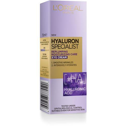 L'Oreal Paris Hyaluron Specialist krema za područje oko očiju 15 ml slika 3