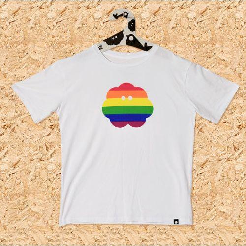 Muška majica RAINBOW bijela, vel. XL slika 1