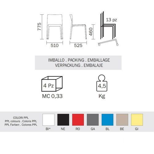 Dizajnerska stolica — by ARCHIVOLTO slika 3