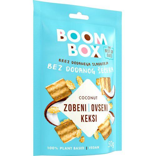 Boom Box Zobeni keksi Kokos 50g slika 2