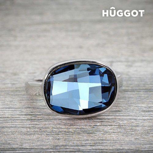 Prsten Presvučen Rodijem I'm Blue Hûggot Kreiran s Kristalima Swarovski® slika 3