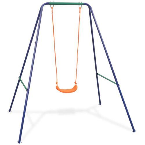 2-u-1 obična ljuljačka i ljuljačka za malu djecu narančasta slika 25