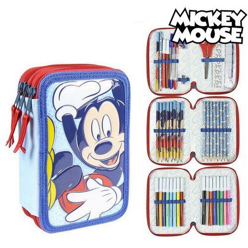 Trodijelna Pernica Giotto Mickey Mouse Modra (43 Pcs) slika 1