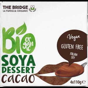 THE BRIDGE Desert od soje s kakaom BIO 4x110g