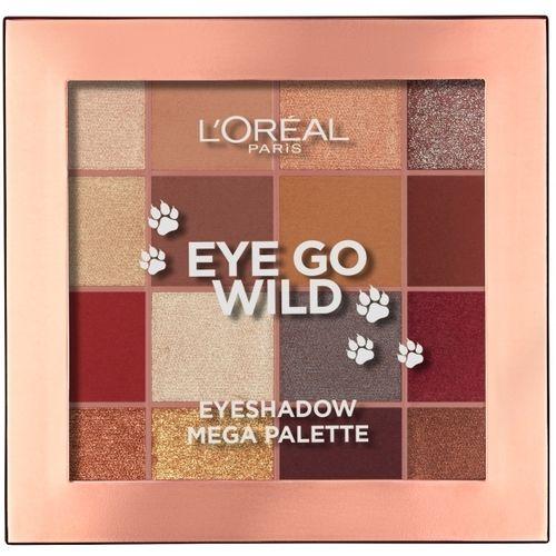 L'Oreal Paris Eye Go Wild paleta sjenila za oči slika 2