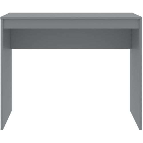 Radni stol sivi 90 x 40 x 72 cm od iverice slika 4