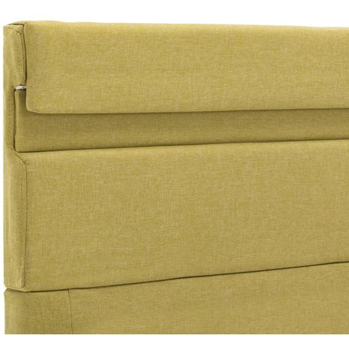Okvir za krevet od tkanine s LED svjetlom zeleni 140 x 200 cm slika 7