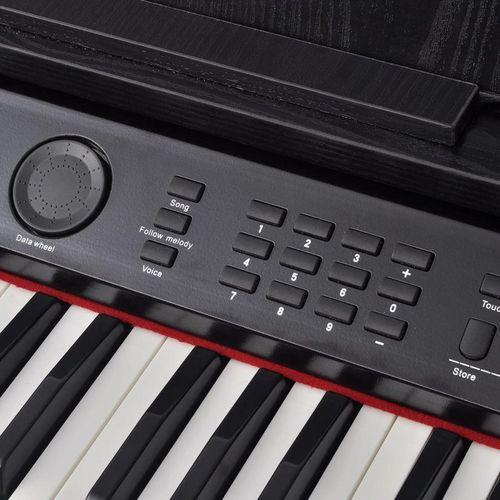Digitalni klavir s pedalama crnom melaminskom pločom i 88 tipki slika 5