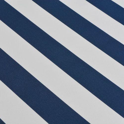 Tenda na Ručno Sklapanje 500 cm Plavo-Bijela slika 8