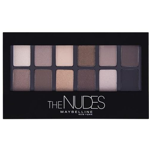 Maybelline New York Eye Shadow Palette 01 The Nudes Paleta sjenila  slika 2