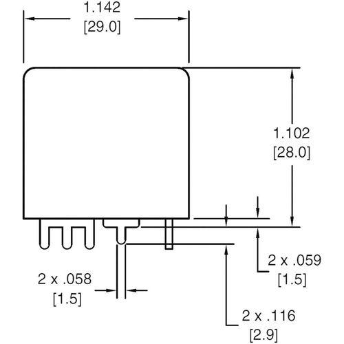Relej za automobile Zettler Electronics AZ983-1A-12D, ISO, 12V/DC, 80 A, maks. 75 V/DC slika 2