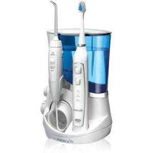 WP-861 Waterpik Complete Care 5.0 komplet spaja vrhunsku tehnologiju oralnog tuša i ultrazvučne četkice u jedinstven proizvod.  WP-861 Waterpik Complete Care 5.0 oralni tuš uklanja bakterije duboko između zuba i ispod linije desni. WP-861 Waterpik...