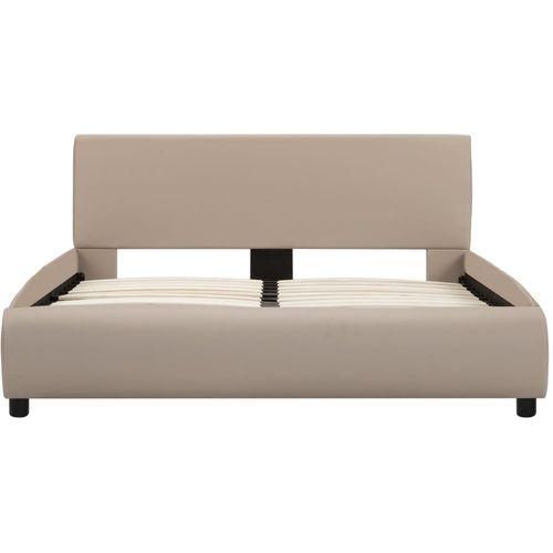 Okvir za krevet od umjetne kože boja cappuccina 120 x 200 cm slika 3