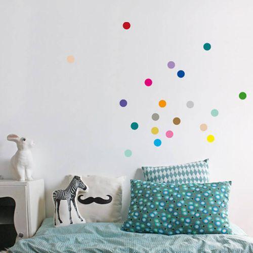 Zidne naljepnice — TOČKE — multicolor • 50% gratis slika 7