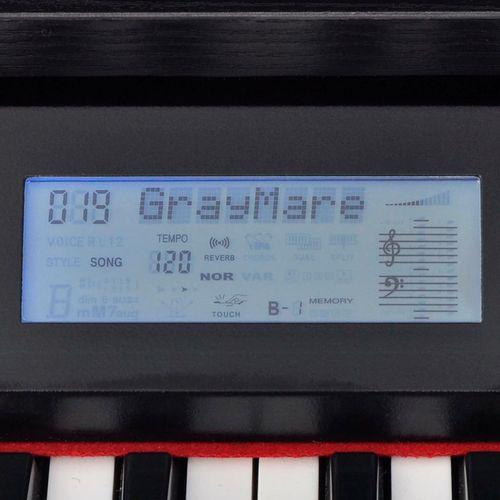 Digitalni klavir s pedalama crnom melaminskom pločom i 88 tipki slika 20