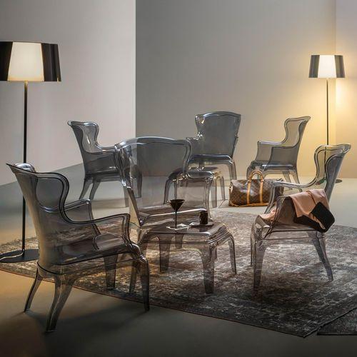 Dizajnerska fotelja — POLY LOUNGE slika 14