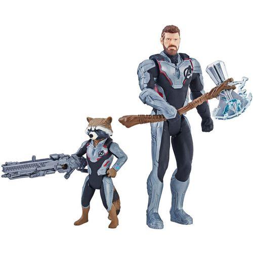 Marvel Avengers Thor and Raccoon set figures slika 1