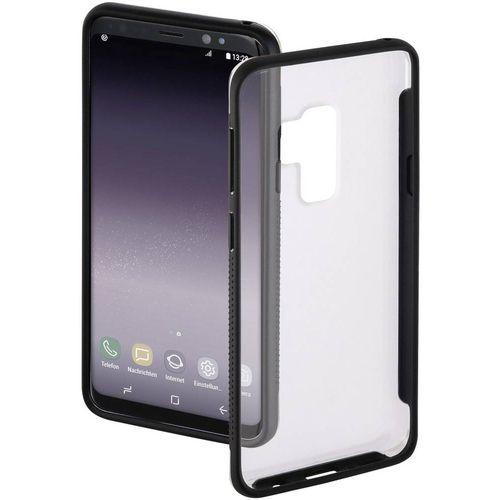 Hama Frame Stražnji poklopac za mobilni telefon Pogodno za: Samsung Galaxy S9+ Prozirna, Crna slika 1