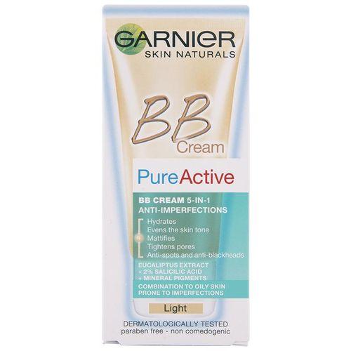 Garnier Skin Naturals Pure Active BB Light krema 50 ml protiv bubuljica slika 2