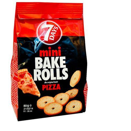 Bake Rolls Mini - Pizza 80g slika 1