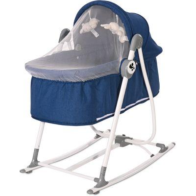 Prvi dani uz novorođenče biti će jednostavno lakši, a noću ćete prospavati mnogo više sati uz ovu udobnu i praktičnu LORELLI CRADLE ALICANTE kolijevku i njihalicu 2u1, koja se lako sklopi, pa s Vama može i na putovanja.   - kolijevka ili njihalica 2u1 - Vi odlučujete  - za korištenje od rođenja do 6 mj ili 9kg  - nježan materijal  - udoban dizajn  - mreža za komarce  - luk s igračkama  - njihanje se može zakočiti  - pojas u 3-točke  - ležeći položaj