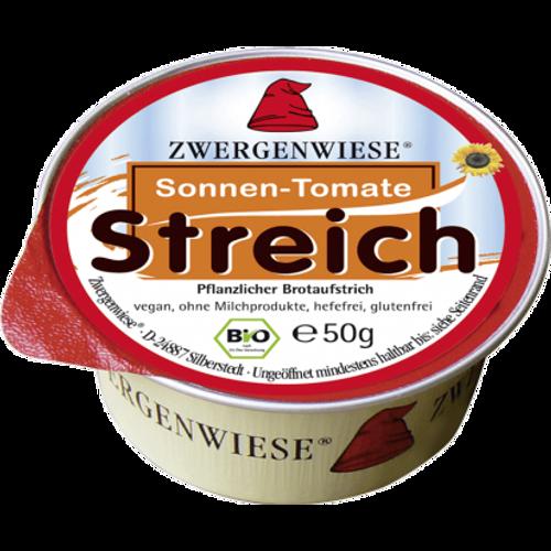 ZWERGENWEISE Pašteta biljna rajčica sušena BIO 50g slika 1